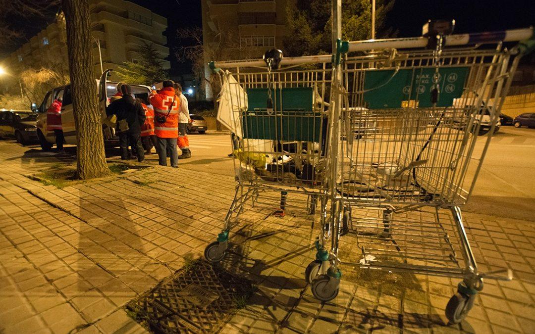 Creu Roja Sabadell comença les intervencions d'hivern per atendre les persones que viuen al carrer