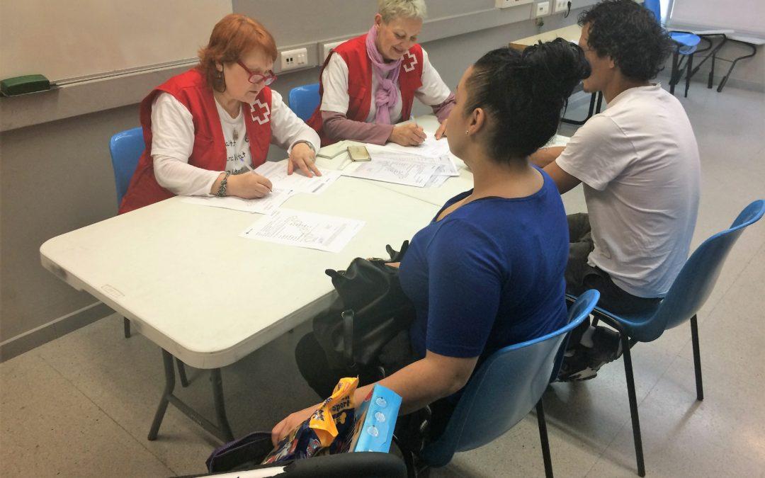 Creu Roja Sabadell reparteix esmorzars i berenars a un total de 254 infants en el marc de la campanya 'Desayunos y meriendas con corazón'