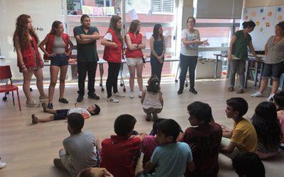 Una festa conjunta dels projectes d'infància de Creu Roja Sabadell tanca el curs escolar