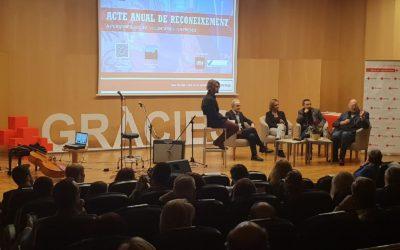 Creu Roja Sabadell celebra l'acte de reconeixement anual a persones sòcies, voluntàries i empreses