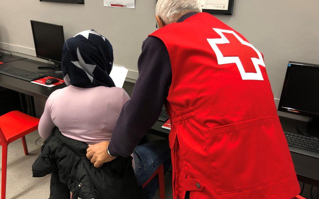 Creu Roja Sabadell reforça el seu espai de cerca de feina de cara al 2019