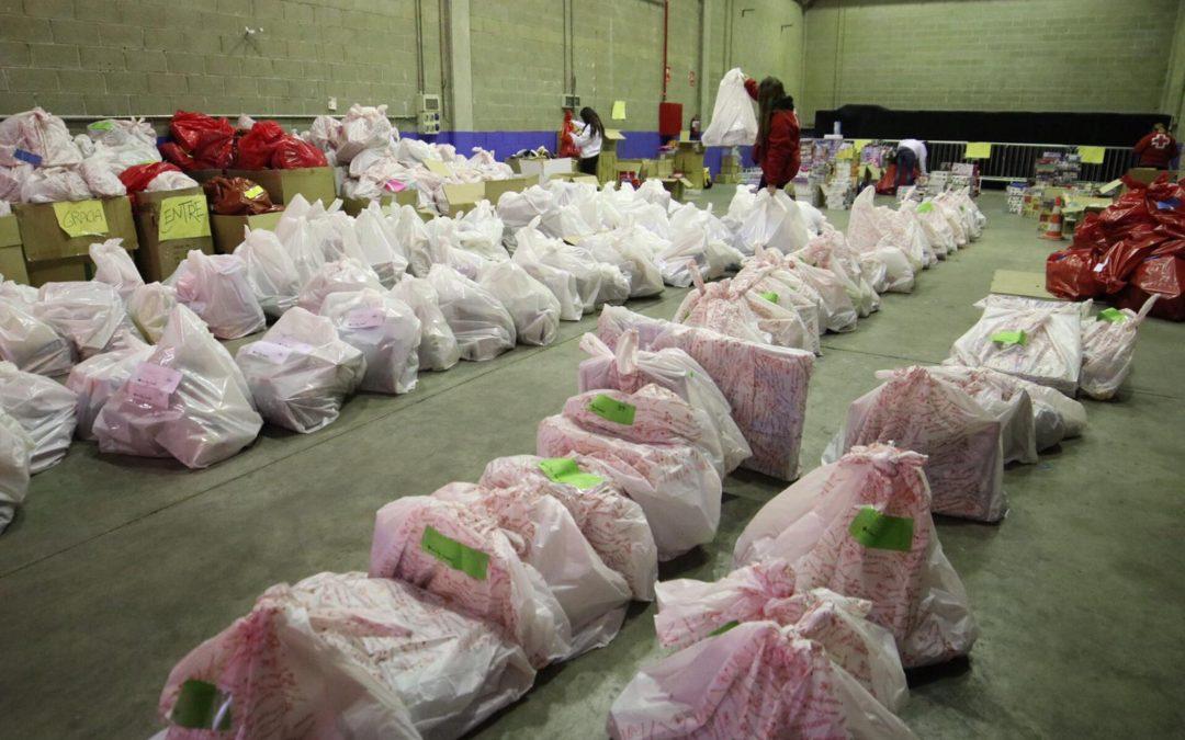 Creu Roja Sabadell reparteix joguines a 1.583 infants durant el Nadal