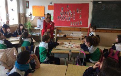 Creu Roja Sabadell porta un any més els valors de la solidaritat i la convivència a les escoles