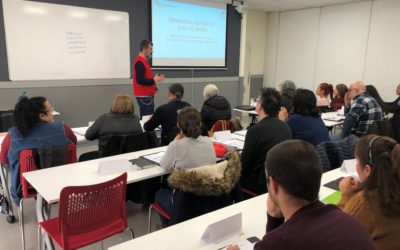 Personal polivalent en comerç, la primera formació del nou projecte d'ocupació de Creu Roja Sabadell