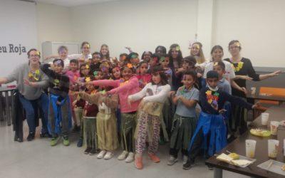 Els projectes d'infància de Creu Roja Sabadell celebren el carnaval amb diferents activitats