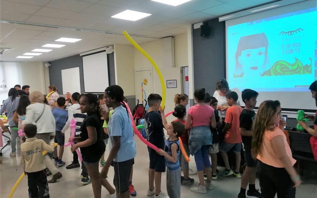 Els projectes d'infància de Creu Roja Sabadell tanquen el curs escolar amb una festa final amb les famílies
