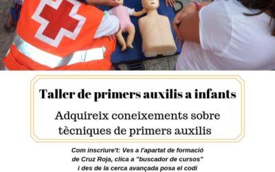 Taller de primers auxilis a infants