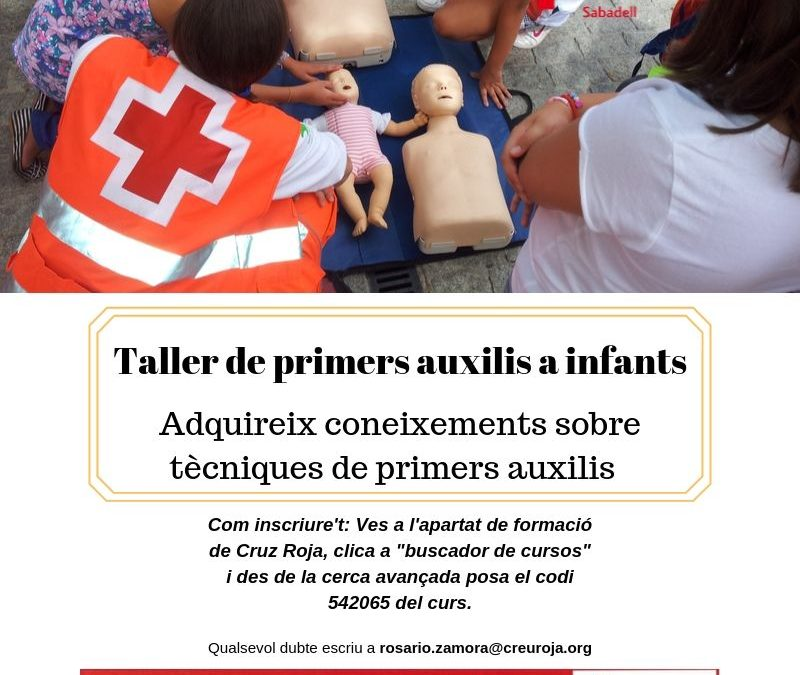 Taller de primers auxilis a infants