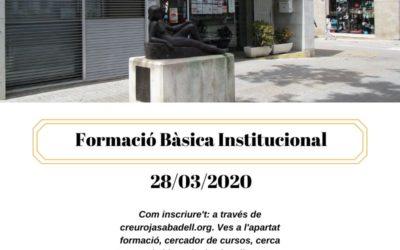 Formació Bàsica Institucional