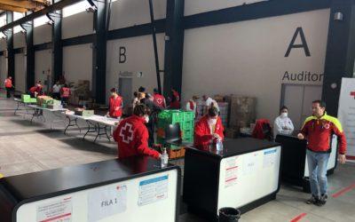 Creu Roja Sabadell multiplica la seva activitat en el marc del COVID19