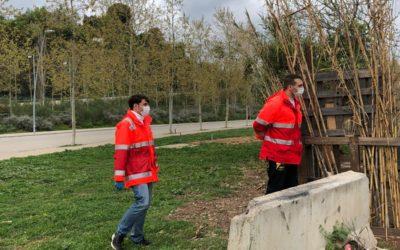 Creu Roja intensifica l'atenció a les persones que viuen al carrer pel COVID19