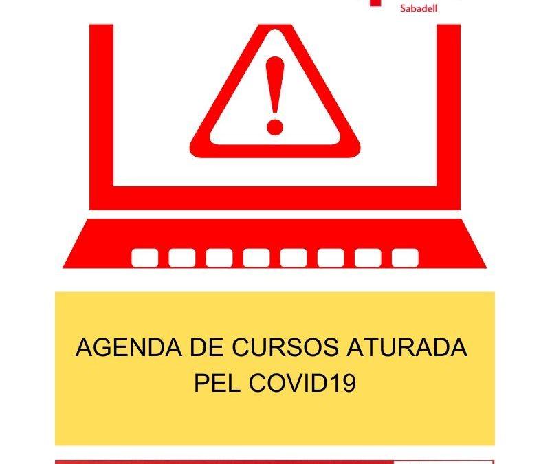 Agenda d'activitats aturada pel COVID19