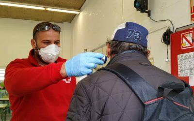 Creu Roja gestiona un alberg temporal per a persones sense llar a Sabadell
