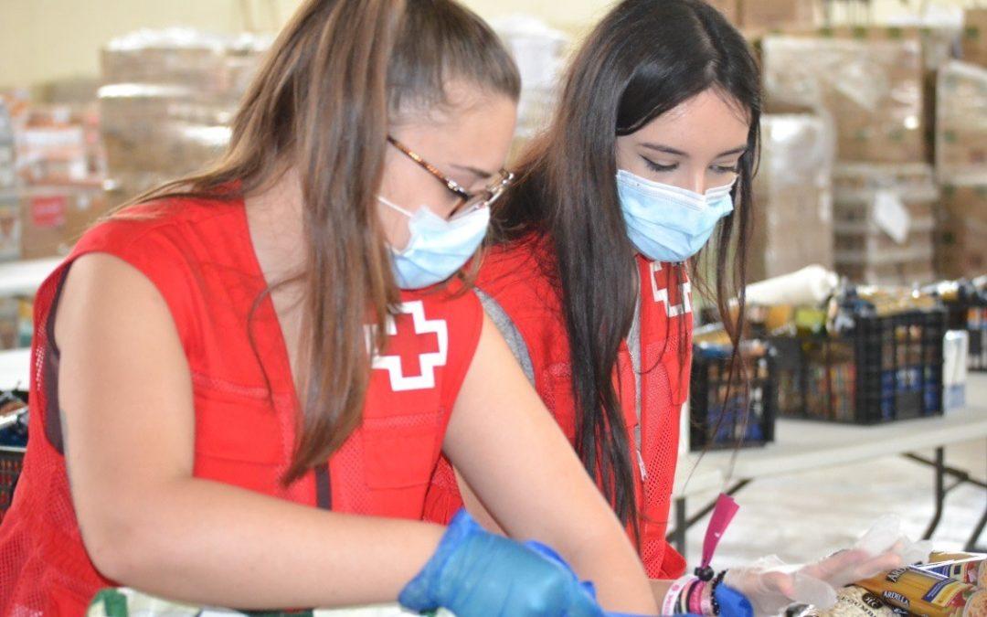 Creu Roja Sabadell quadruplica les ajudes d'alimentació arran de la COVID19