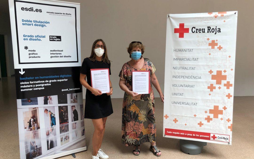 Creu Roja Sabadell i Esdi signen un conveni per al desenvolupament d'iniciatives de disseny social