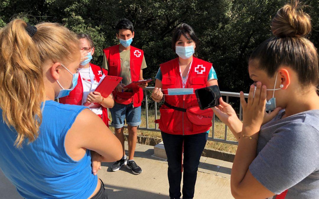 Creu Roja Sabadell i l'Ajuntament posen en marxa un dispositiu per reforçar la informació i sensibilització en relació la COVID-19
