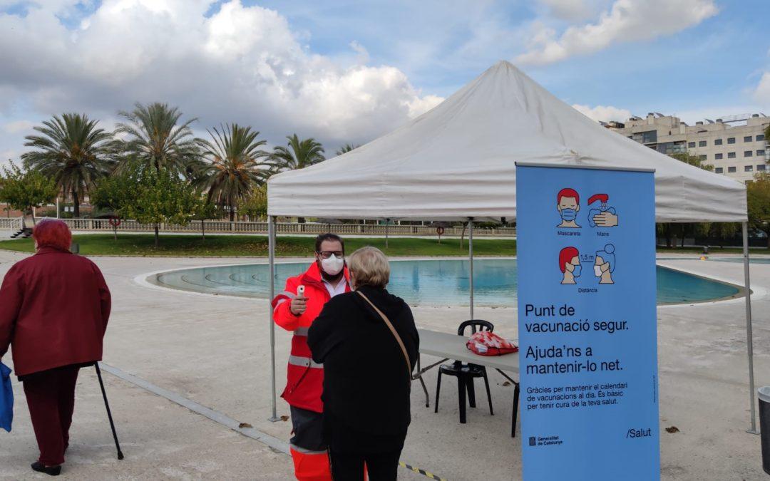 Creu Roja col·labora amb l'ICS en la campanya de vacunació de la grip a Barberà del Vallès