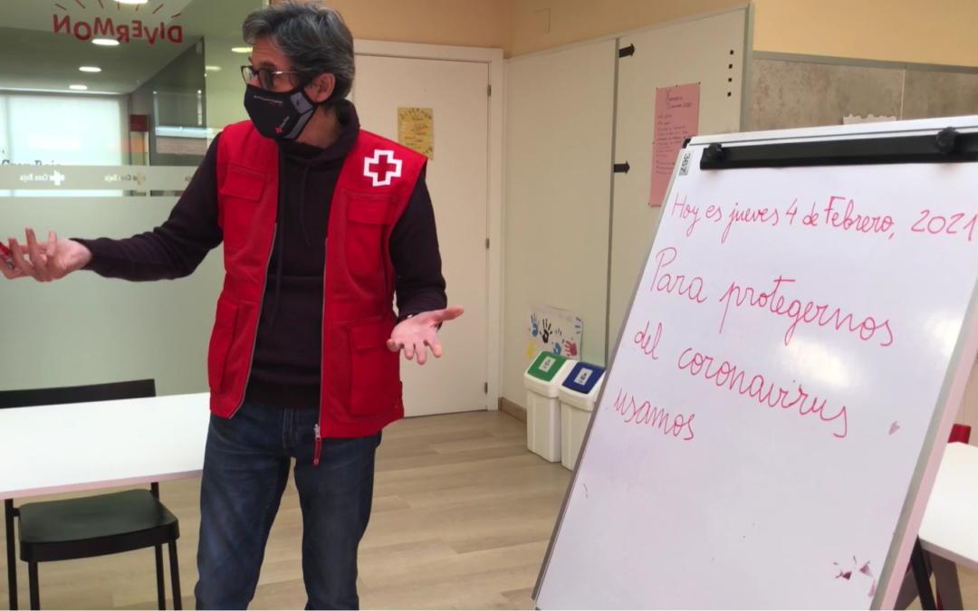 Creu Roja Sabadell engega els tallers d'alfabetització