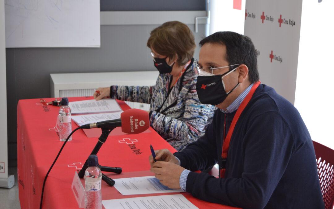 Creu Roja Sabadell atén 16.000 persones només en ajut humanitari bàsic durant el primer any de Pla Creu Roja Respon