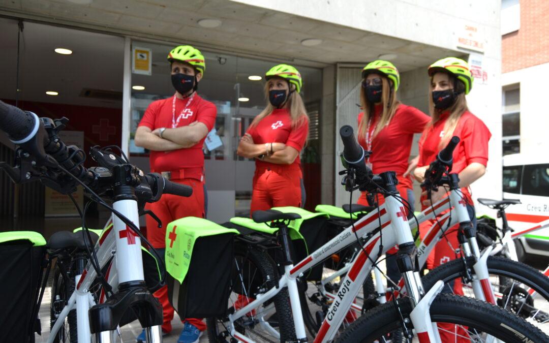 Creu Roja Sabadell estrena la Unitat d'Intervenció Ciclista amb el suport de Rotary