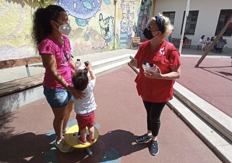 Creu Roja Sabadell engega el dispositiu d'estiu sobre les altes temperatures