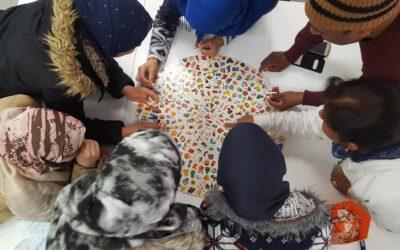 Es reprenen els tallers d'alfabetització a Creu Roja Sabadell